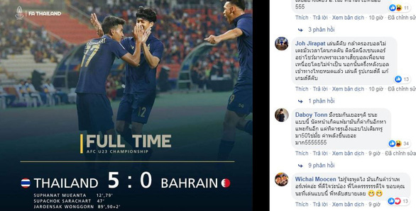 Thắng Bahrain 5-0, CĐV Thái nói hãy bình tĩnh, mọi chuyện chỉ mới bắt đầu  - Ảnh 1.