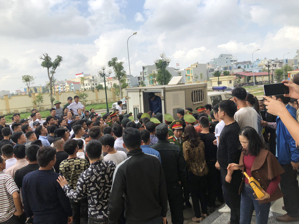 Gây rối trật tự ở biển Hải Tiến: Nhiều bị can nói mình tự vệ chính đáng - Ảnh 2.