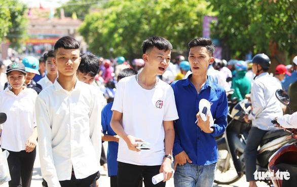 Tuyển sinh vào lớp 10 ở Nghệ An giảm môn thi trong bài tổ hợp - Ảnh 1.