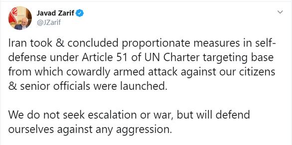 Iran nói tôn trọng chủ quyền Iraq sau vụ bắn tên lửa - Ảnh 2.