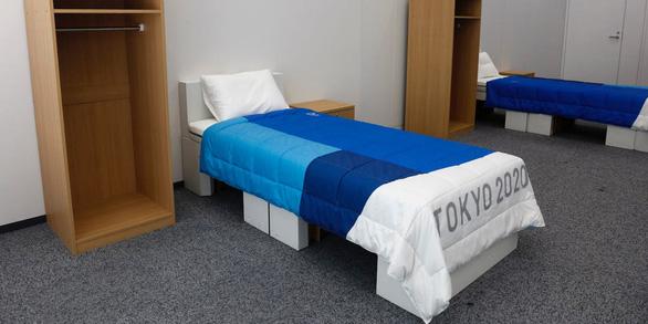 Nhật làm giường từ bìa cứng cho vận động viên Thế vận hội - Ảnh 1.