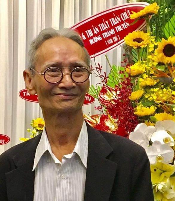 Nhà giáo ưu tú Trần Chút qua đời, hưởng thọ 81 tuổi - Ảnh 1.