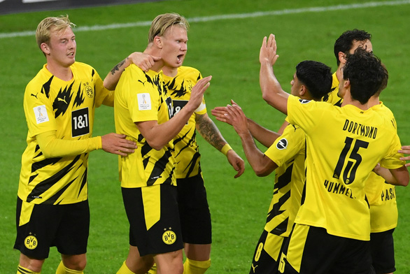 Thắng nghẹt thở Dortmund, Bayern đoạt Siêu cúp Đức 2020 - Ảnh 4.