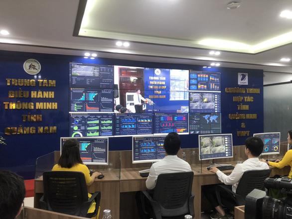 Quảng Nam đưa vào vận hành trung tâm điều hành thông minh - Ảnh 1.