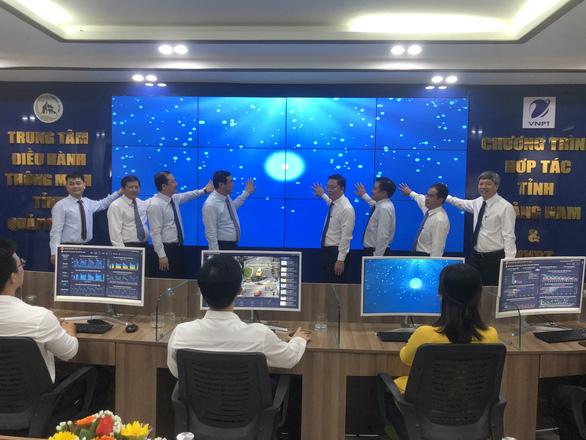 Quảng Nam đưa vào vận hành trung tâm điều hành thông minh - Ảnh 3.