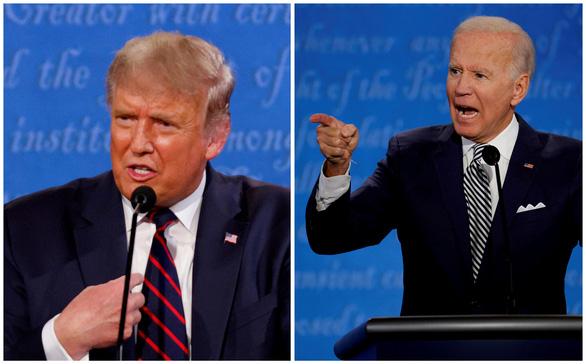 Ông Trump tổ chức sự kiện để 'át sóng' chương trình của ông Biden - Ảnh 1.