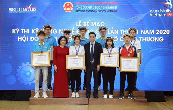 Đoàn Hà Nội thắng áp đảo tại Kỳ thi kỹ năng nghề quốc gia 2020 - Ảnh 1.