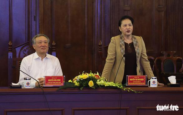 Chủ tịch Quốc hội: Cần phải xây dựng tòa án trang nghiêm - Ảnh 1.