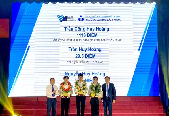 3 thủ khoa Trường ĐH Bách khoa TP.HCM cùng tên Huy Hoàng - Ảnh 1.