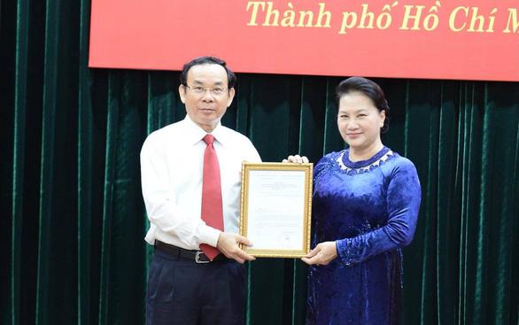 Giới thiệu ông Nguyễn Văn Nên để bầu làm Bí thư Thành ủy TP.HCM nhiệm kỳ 2020 - 2025 - Ảnh 2.