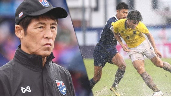 HLV Nishino hài lòng dù đội tuyển Thái Lan thua đội hạng hai - Ảnh 1.