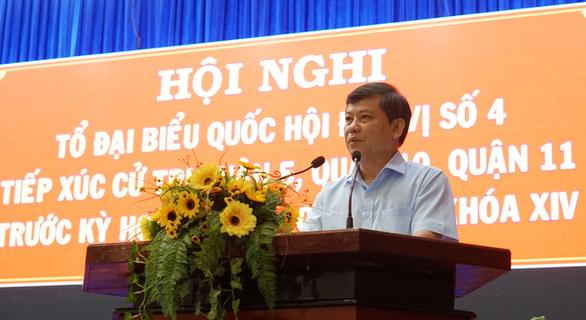 Ông Lê Minh Trí: Chống tham nhũng nhưng cũng phải bảo vệ quyền con người - Ảnh 1.