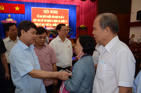 Ông Lê Minh Trí: Chống tham nhũng nhưng cũng phải bảo vệ quyền con người - Ảnh 2.