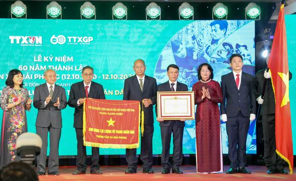 Thông tấn xã Giải phóng nhận danh hiệu Anh hùng lực lượng vũ trang nhân dân - Ảnh 1.