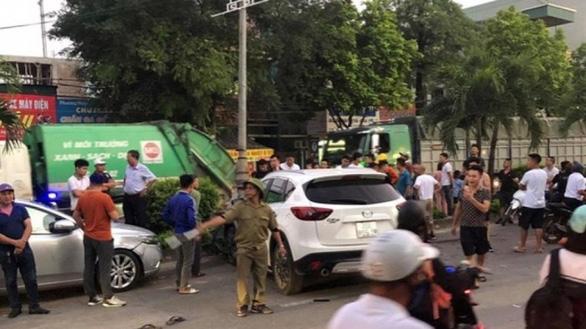 Tạm giữ tài xế say rượu gây tai nạn liên hoàn làm 1 người chết, 7 người bị thương - Ảnh 2.