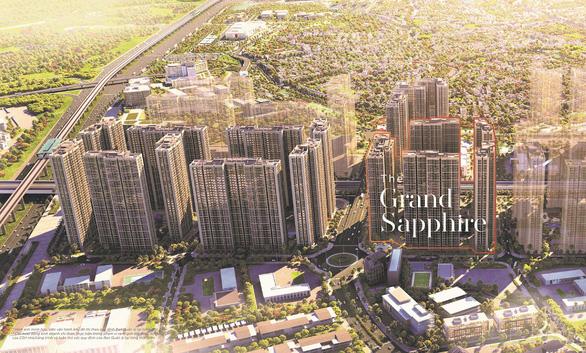 Sức hút từ tọa độ hoàng kim của tòa căn hộ Grand Sapphire 2 Vinhomes Smart City - Ảnh 1.