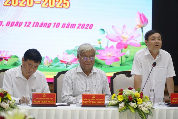 Ông Lê Minh Hoan vẫn điều hành Đại hội Đảng bộ tỉnh Đồng Tháp - Ảnh 1.