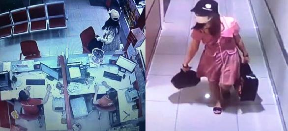 Khởi tố cô gái dọa nổ bom cướp Ngân hàng Techcombank hơn 2 tỉ - Ảnh 2.