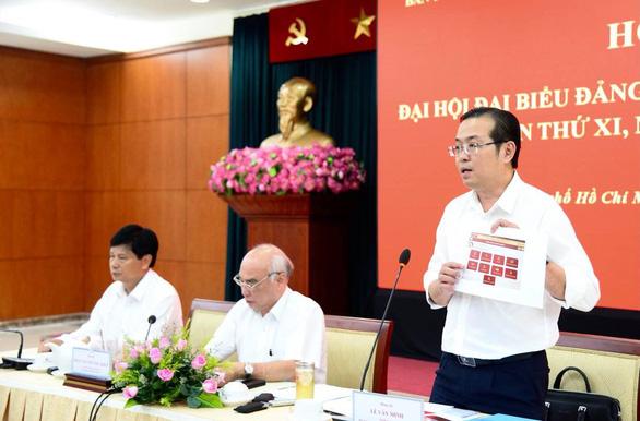 Chiều 17-10 sẽ công bố danh sách ủy viên BCH Đảng bộ TP.HCM khóa mới - Ảnh 1.