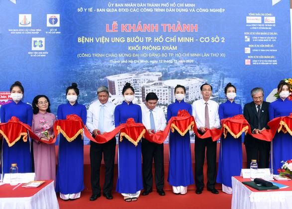 Khánh thành Bệnh viện Ung bướu cơ sở 2 với 1.000 giường bệnh - Ảnh 2.