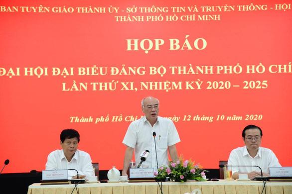 Chiều 17-10 sẽ công bố danh sách ủy viên BCH Đảng bộ TP.HCM khóa mới - Ảnh 2.