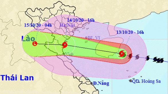 Thêm áp thấp nhiệt đới mới có thể mạnh thành bão số 8, hướng vào miền Trung - Ảnh 1.