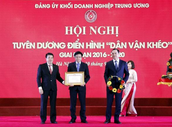 Đảng bộ Tổng Công ty Khí Việt Nam được tuyên dương điển hình Dân vận khéo - Ảnh 1.
