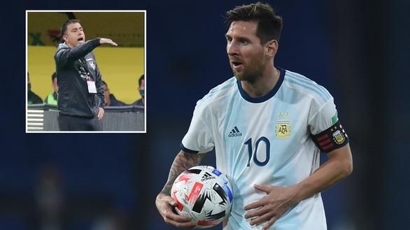 HLV Bolivia dọa ăn gan của Messi và tuyển Argentina ở độ cao 3.600m - Ảnh 1.