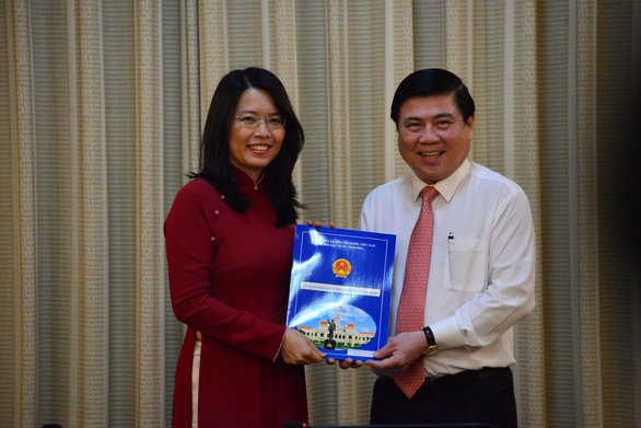 Bà Nguyễn Thị Ánh Hoa giữ chức giám đốc Sở Du lịch TP.HCM - Ảnh 1.