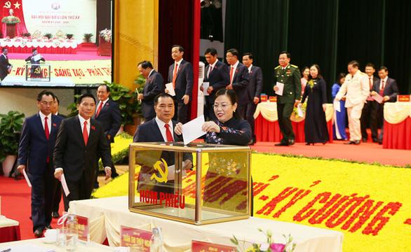 Bà Nguyễn Thanh Hải tiếp tục được bầu làm bí thư Thái Nguyên - Ảnh 2.