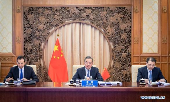 Ông Vương Nghị kêu gọi ASEAN hợp tác chống can thiệp từ bên ngoài ở Biển Đông - Ảnh 1.