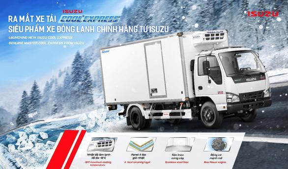 ISUZU Việt Nam ra mắt QKR phiên bản thùng đông lạnh - Ảnh 1.