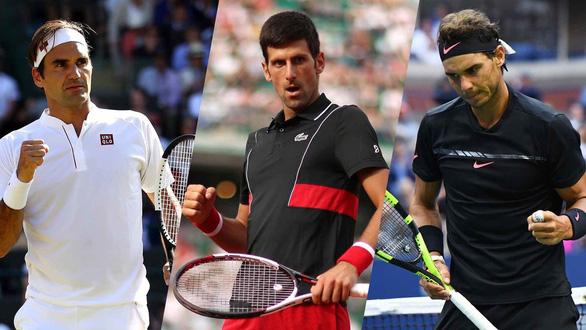 Cuộc đua lại khốc liệt của cặp đôi Federer - Nadal - Ảnh 1.