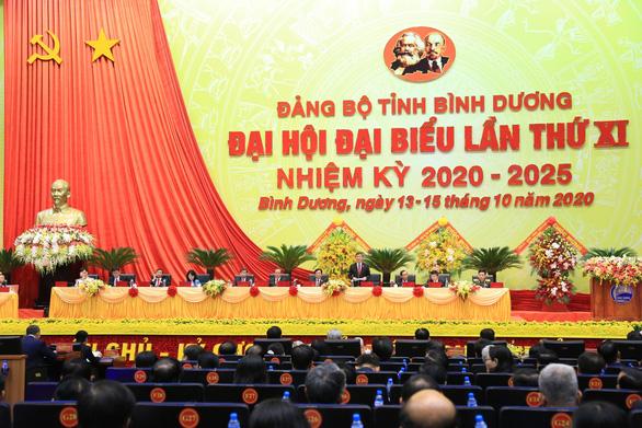 Đại hội Đảng bộ tỉnh Bình Dương: Mục tiêu trở thành trung tâm công nghiệp hiện đại - Ảnh 3.