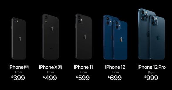 Lúc 0 giờ, Apple  đã ra mắt dòng iPhone 12 công nghệ 5G siêu nhanh - Ảnh 3.