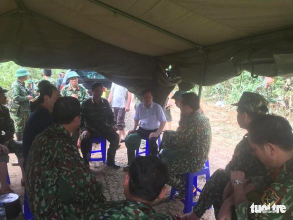 Cận cảnh hiện trường vụ sạt lở ở Trạm bảo vệ rừng 67 - Ảnh 2.
