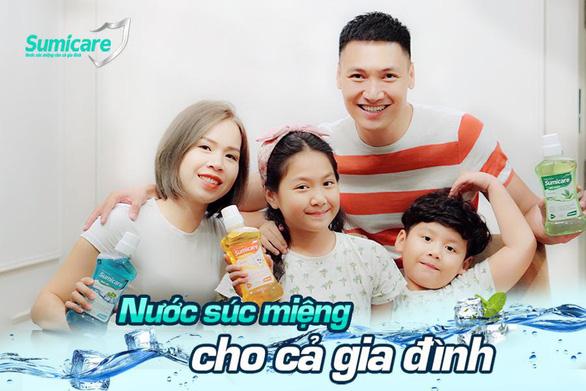 Sumicare - Nước súc miệng giúp diệt khuẩn cho cả gia đình - Ảnh 1.