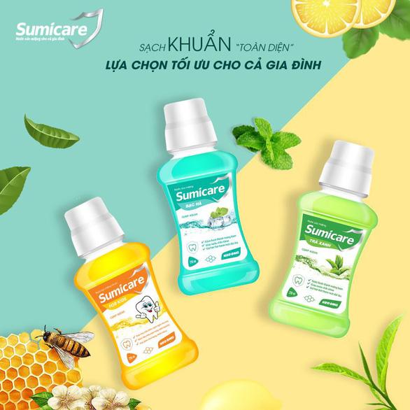 Sumicare - Nước súc miệng giúp diệt khuẩn cho cả gia đình - Ảnh 2.