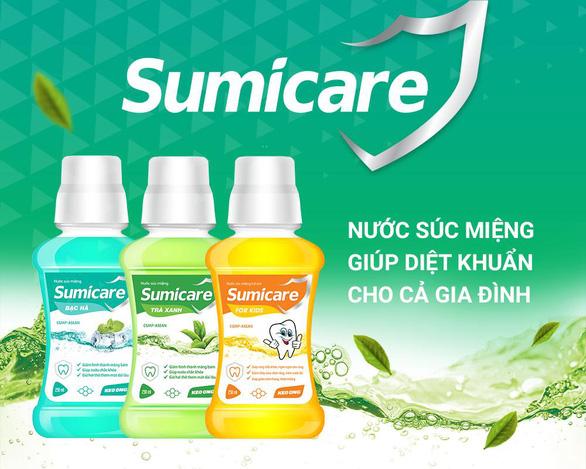 Sumicare - Nước súc miệng giúp diệt khuẩn cho cả gia đình - Ảnh 3.
