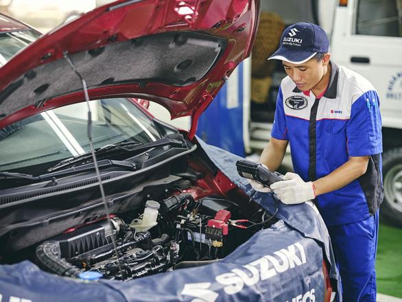 Chia sẻ thông tin về xe Ertiga và dự trữ phụ tùng của Suzuki - Ảnh 3.