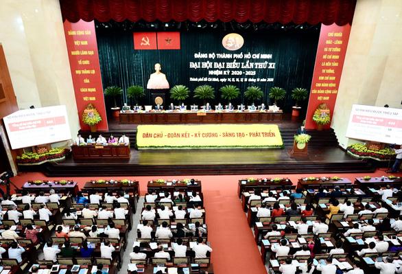 Đại hội đại biểu Đảng bộ TP.HCM lần thứ XI: Dấu mốc quan trọng mở ra giai đoạn mới, khí thế mới - Ảnh 1.
