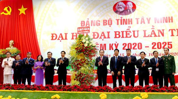 47 người trúng cử Ban chấp hành Đảng bộ Tây Ninh - Ảnh 1.