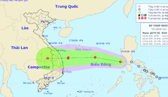Miền Trung tiếp tục mưa lớn với hình thái tổ hợp đa thiên tai - Ảnh 1.