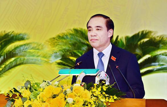 Ông Chẩu Văn Lâm tái đắc cử bí thư Tỉnh ủy Tuyên Quang - Ảnh 1.