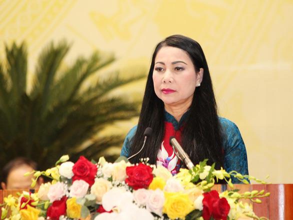 Bà Hoàng Thị Thúy Lan tái đắc cử bí thư Tỉnh ủy Vĩnh Phúc với số phiếu tuyệt đối - Ảnh 1.