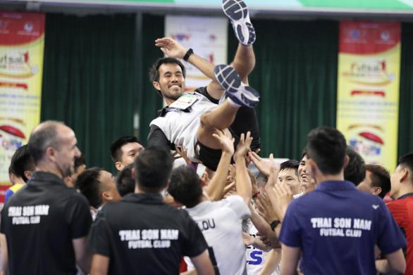 CLB futsal Thái Sơn Nam lần thứ 10 vô địch quốc gia - Ảnh 1.