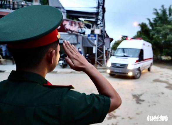Đã tìm thấy 13 thi thể chiến sĩ, cán bộ hi sinh khi cứu nạn thủy điện Rào Trăng 3 - Ảnh 3.