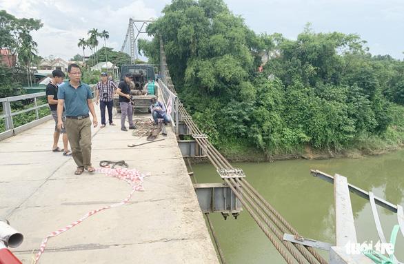 Sẽ xây cầu cứng sau vụ tai nạn 5 người chết ở cầu treo sông Giăng - Ảnh 2.