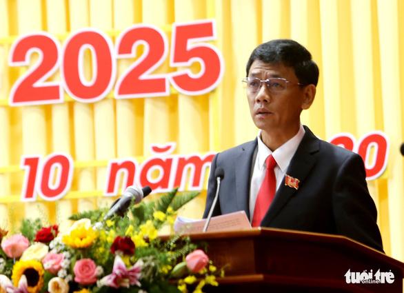 Ông Lâm Văn Mẫn được bầu giữ chức Bí thư Tỉnh ủy Sóc Trăng - Ảnh 1.