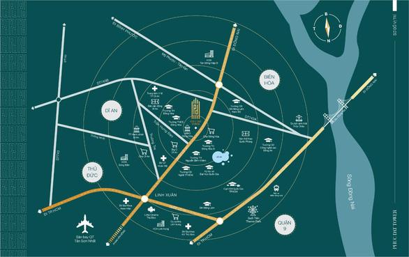 Sức hút của dự án mặt tiền đại lộ Phạm Văn Đồng nối dài - Ảnh 1.